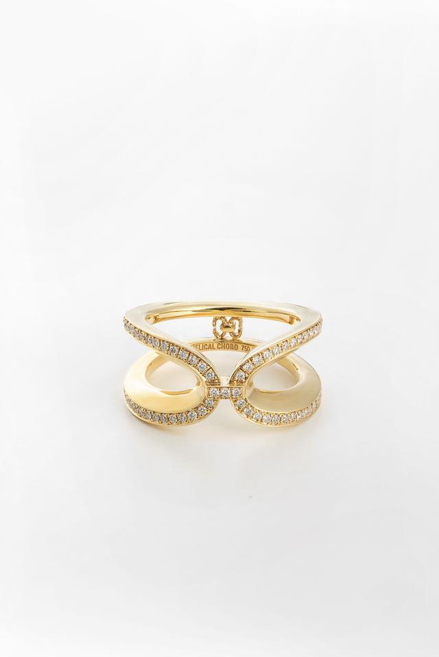 画像: EC RING YG WITH DIAMOND