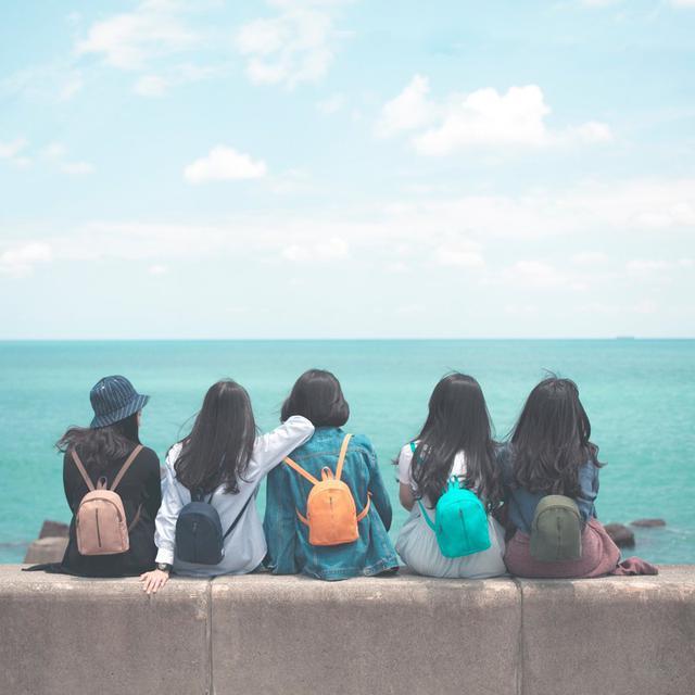 画像: 【一帆布包】帆布ミニリュック - 一帆布包  - リュックサック | Pinkoi