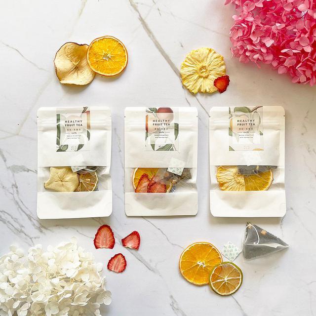 画像: | Healthy and Light | Dried Fruit Tea | Six Packs of Orange, Dried Fruit, Apple and Strawberry - senstea  - お茶 | Pinkoi