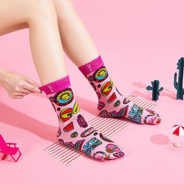画像: | Barbie X HOA Original Socks | TOGETHER WE SHINE | 5778 | - House of Avenues  - ソックス | Pinkoi
