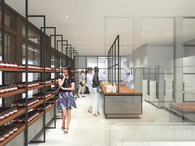 画像2: 【パティスリー・サダハル・アオキ・パリ】アトリエ軽井沢が店舗としてリニューアルオープン!
