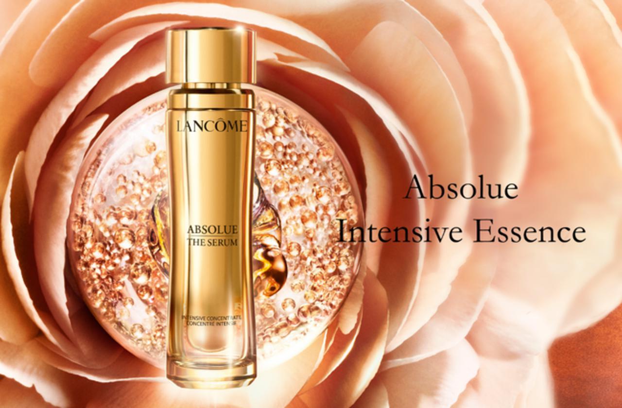 画像: ランコムの長寿美肌研究「アプソリュ インテンシブエッセンス」誕生