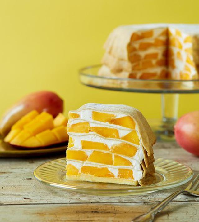 画像1: 表参道限定・沖縄県産完熟マンゴーのミルクレープ&芳醇な香りのメロンとレモンジュレがさわやかな新作メロンパフェも登場!