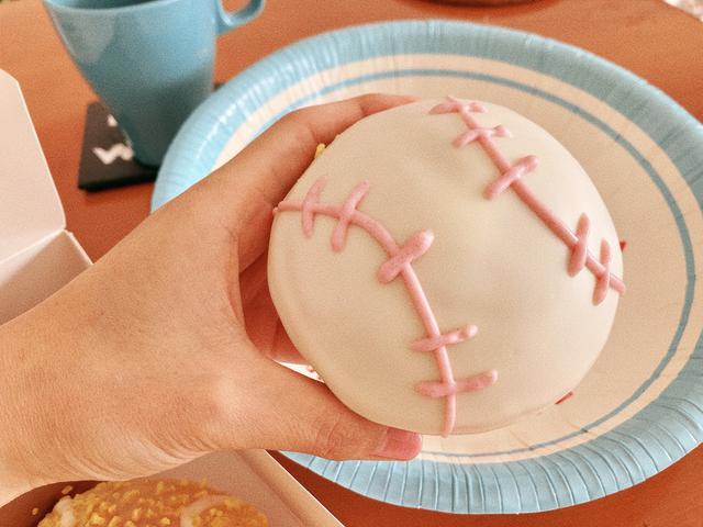 画像: 『ベースボール チョコクリーム』