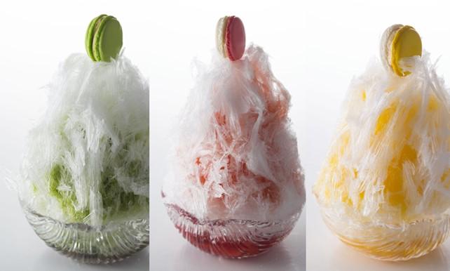 画像: 頭が痛くならない天然氷のかき氷