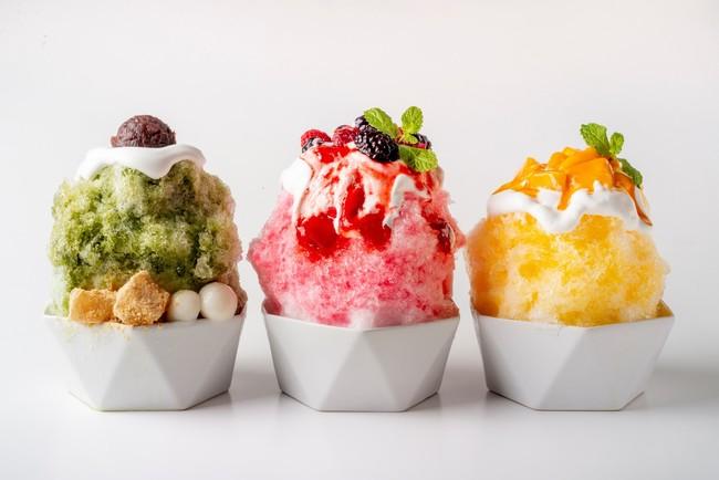 画像: 《かき氷(3種)》 BBQの後のデザートはかき氷。 夏の醍醐味を満喫ください。