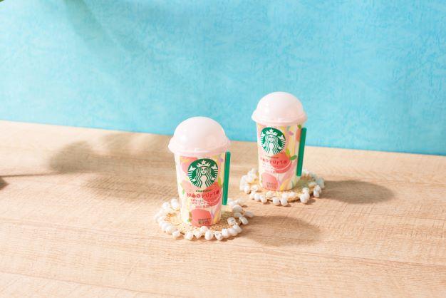 画像: フレッシュな味わいのミルクとピーチジェリーの食感が楽しい、夏限定のデザート飲料!