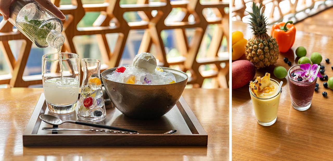 画像: LEXUS > BRAND > INTERSECT BY LEXUS - TOKYO > 夏季限定! 食べられる宝石 「ジュエルボール」が彩る新感覚のかき氷。爽やかなレアシュガースムージーの新作も登場