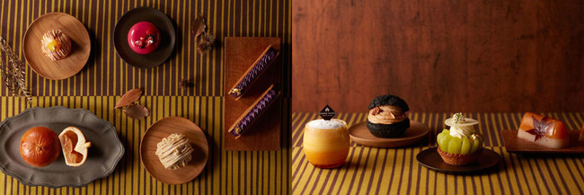 画像1: 栗や柿、マスカットに紫芋。秋の味覚が満載
