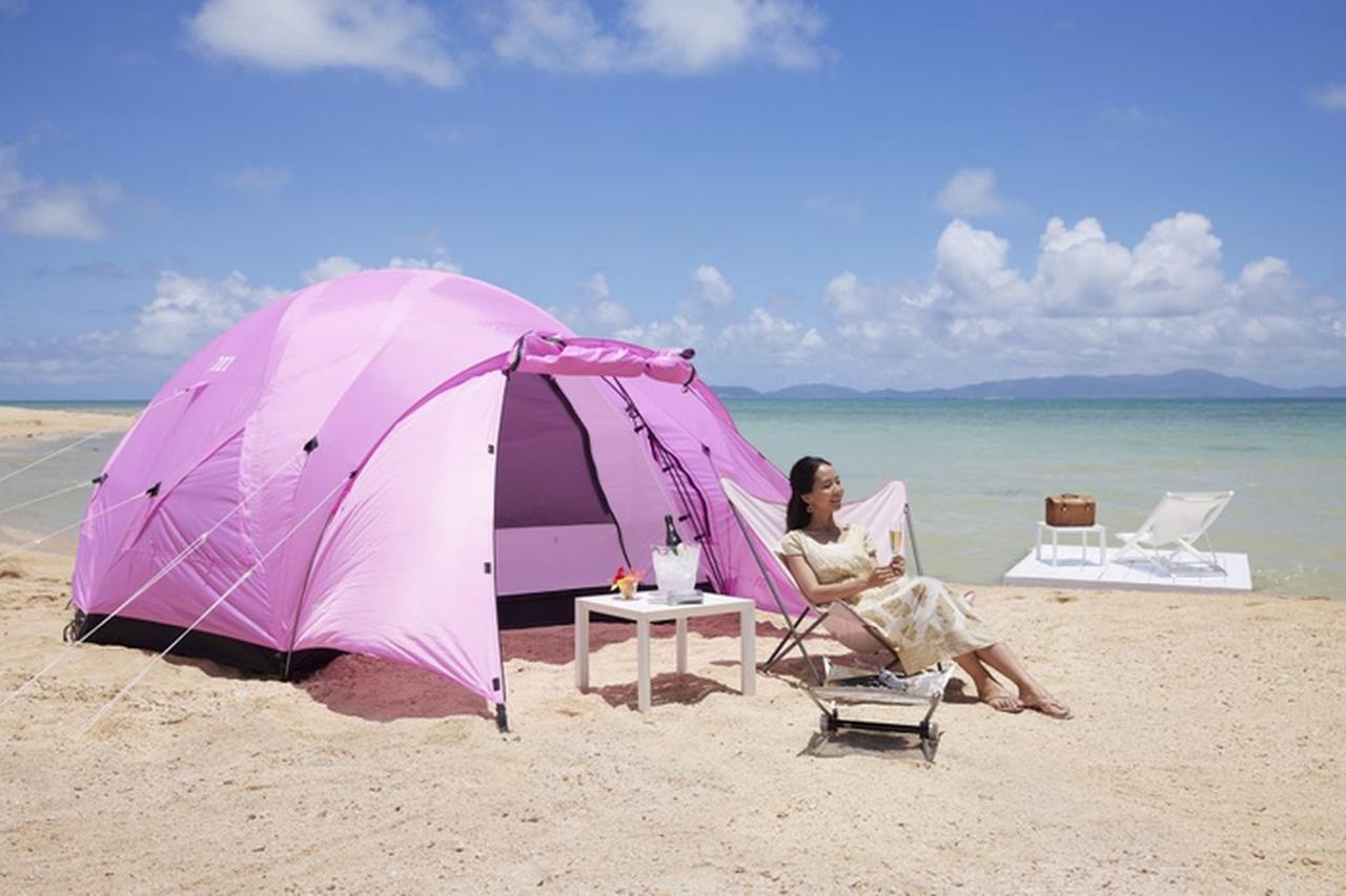 画像: 【リゾナーレ小浜島】 ソロキャンプ体験に最適な宿泊プラン!絶景を独り占めできる「絶景ビーチソロキャンプ」登場