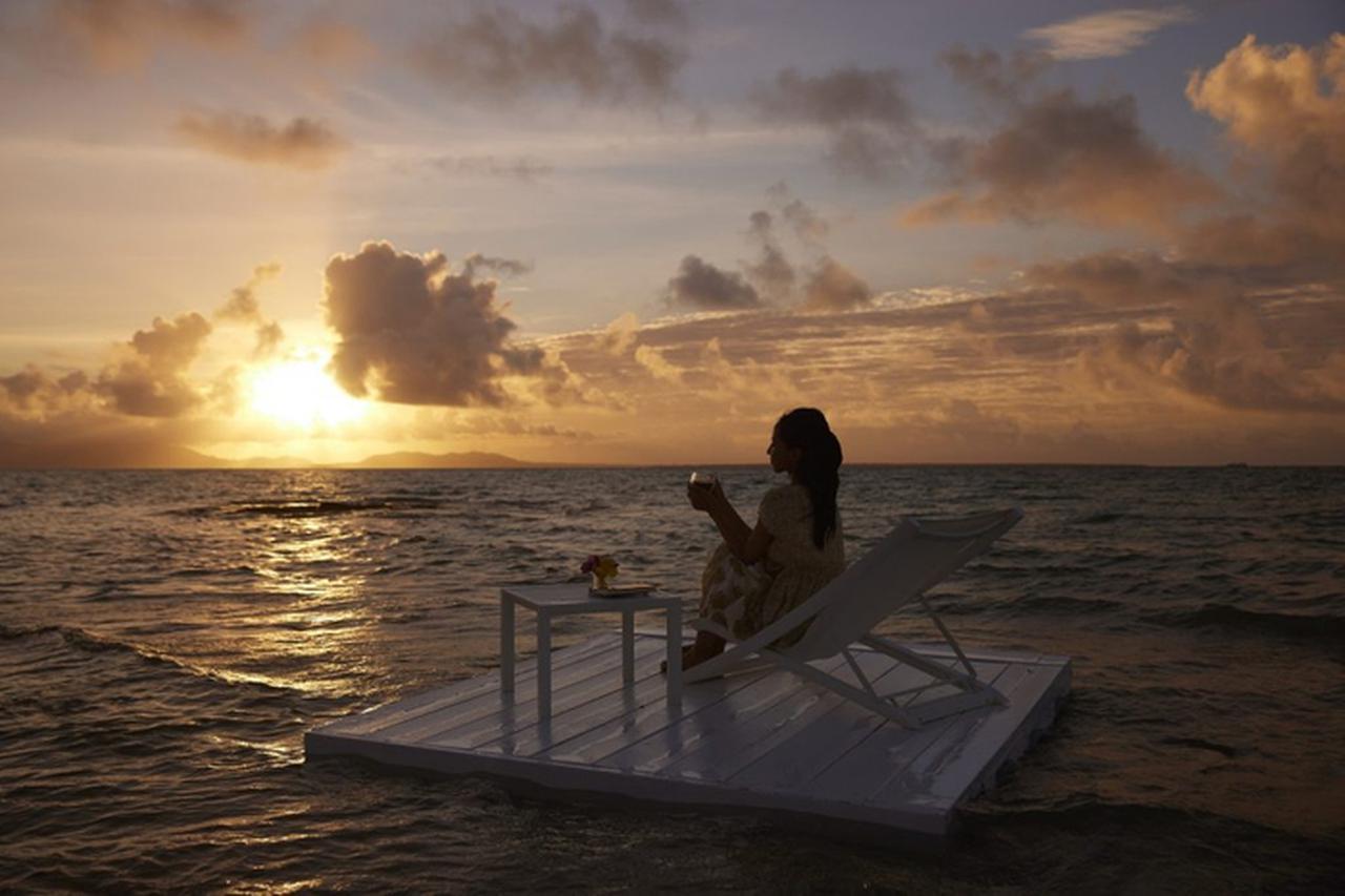 画像: 目の前に絶景が広がるビーチのキャンプサイト