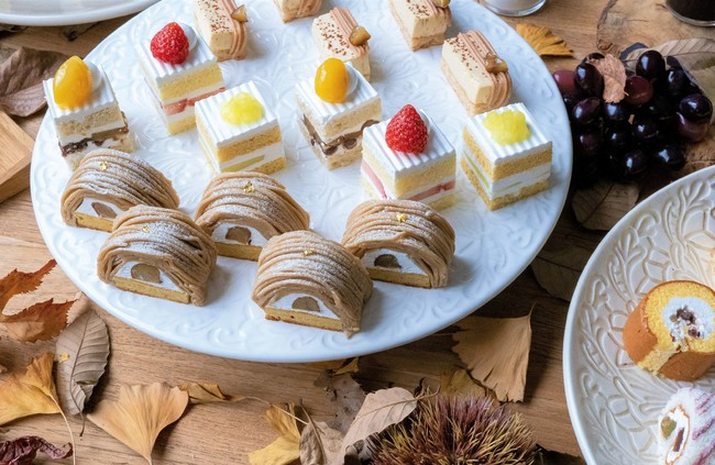 画像: 大注目の新作『マロンショートケーキ』など、3種類の豪華ショートケーキを食べ比べ!