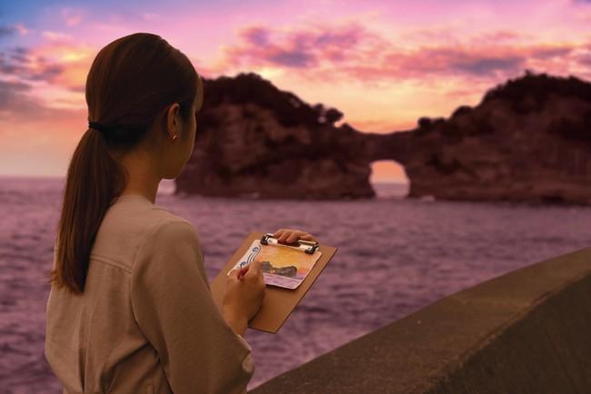 画像1: 極上の夕陽に出会う秋の宿泊プラン「Shirahama Sunset Stay」