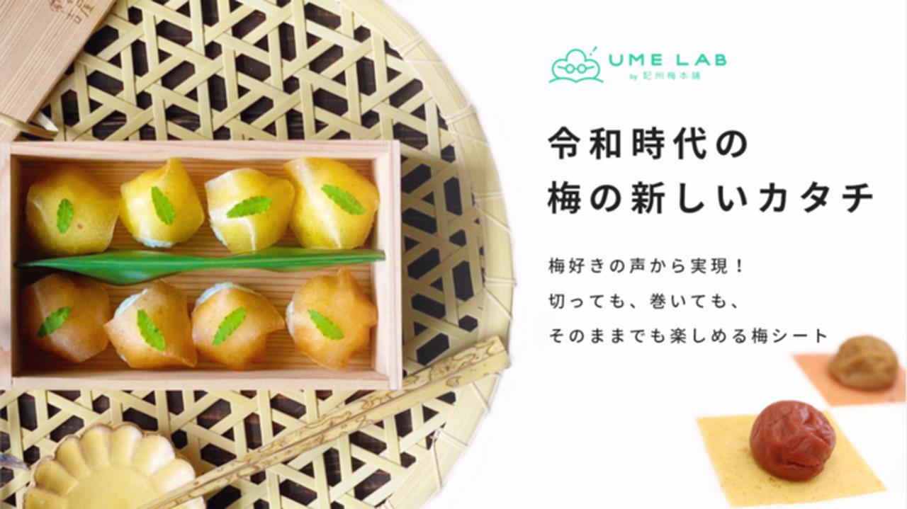 """画像: Makuake 切っても、巻いても楽しめる、アレンジ自在な梅シート!食卓を鮮やかに彩る""""梅包み"""" Makuake(マクアケ)"""