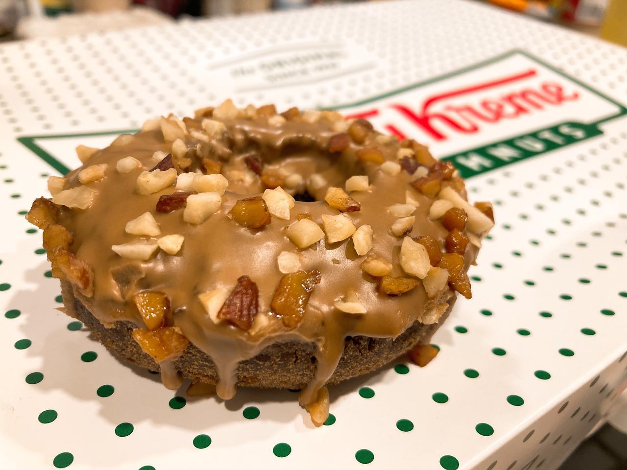 画像1: 【試食レポ】今年の秋は、4つの味と4つの食感!クリスピー・クリーム・ドーナツの新作4種を食べ比べ♡♡♡