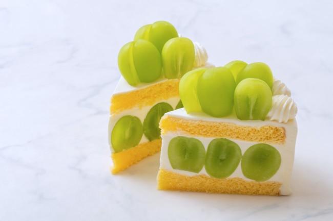 画像2: 上品な風味が至高の逸品 「極上シャインマスカットショートケーキ」 発売スタート