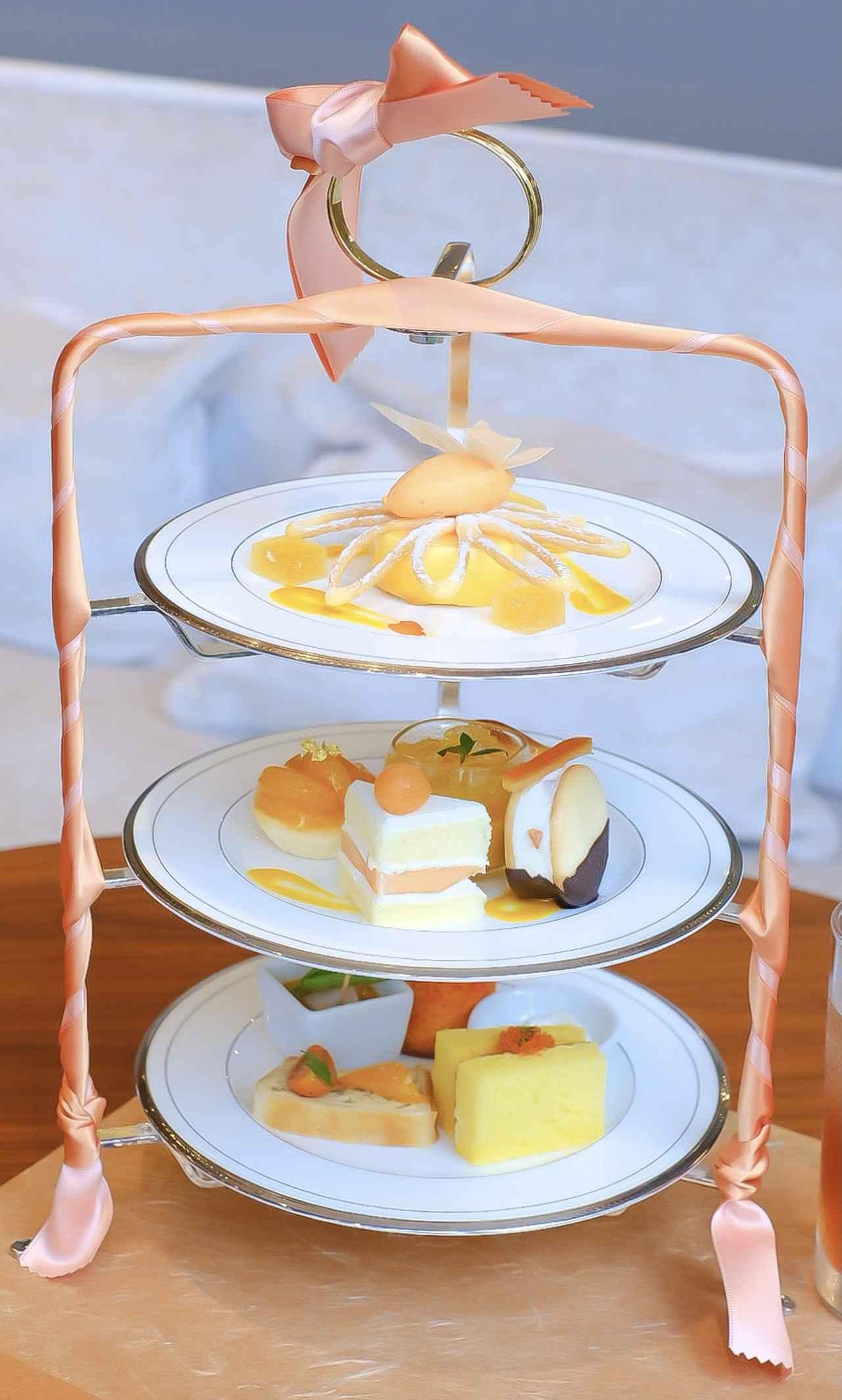 画像7: 【試食レポ】「グランドニッコー東京 台場」の『マリーゴールドオレンジ アフタヌーンティーセット』