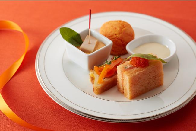 画像3: 【試食レポ】「グランドニッコー東京 台場」の『マリーゴールドオレンジ アフタヌーンティーセット』