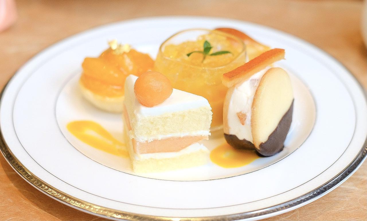 画像13: 【試食レポ】「グランドニッコー東京 台場」の『マリーゴールドオレンジ アフタヌーンティーセット』