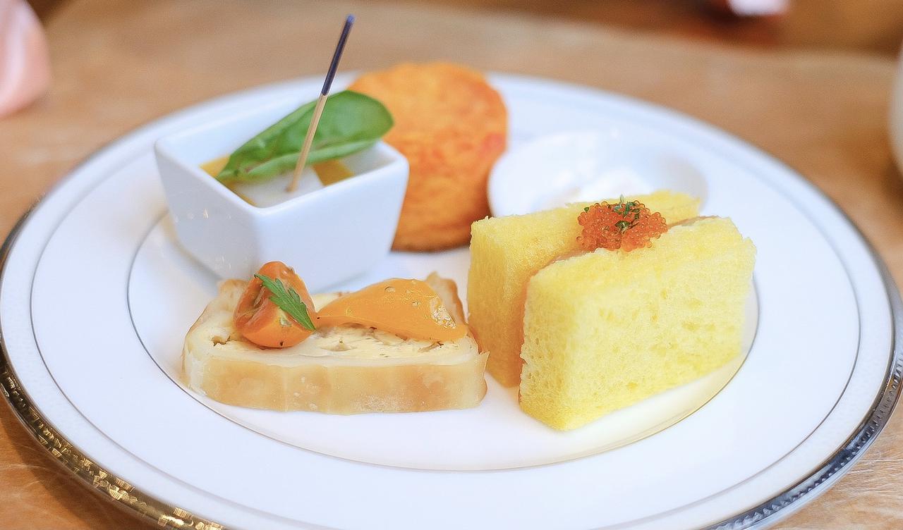 画像14: 【試食レポ】「グランドニッコー東京 台場」の『マリーゴールドオレンジ アフタヌーンティーセット』