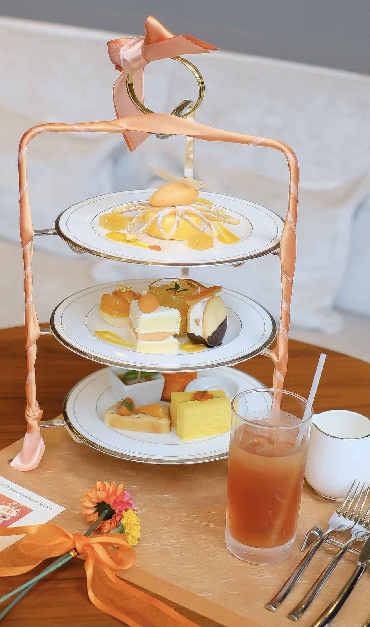 画像8: 【試食レポ】「グランドニッコー東京 台場」の『マリーゴールドオレンジ アフタヌーンティーセット』