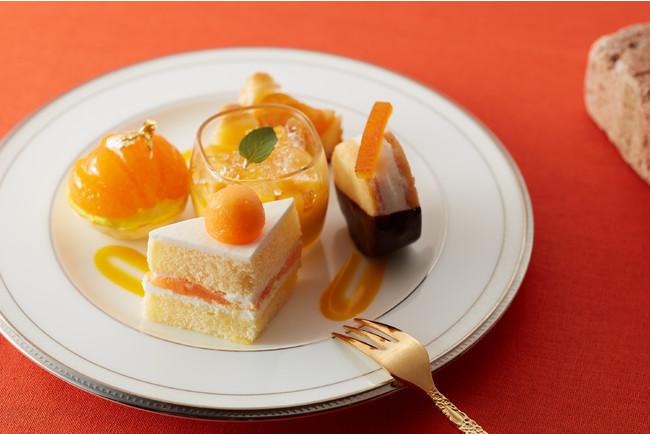 画像2: 【試食レポ】「グランドニッコー東京 台場」の『マリーゴールドオレンジ アフタヌーンティーセット』