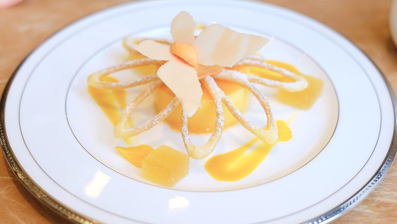 画像11: 【試食レポ】「グランドニッコー東京 台場」の『マリーゴールドオレンジ アフタヌーンティーセット』