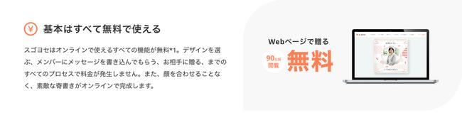 画像3: 従来のオンライン型寄せ書きサービスと違う4つの「スゴさ」
