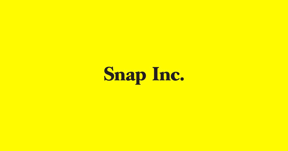 画像: Snap Inc.