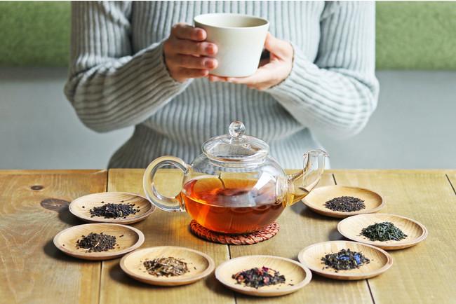 画像: ▼たっぷりのお茶でゆったりと