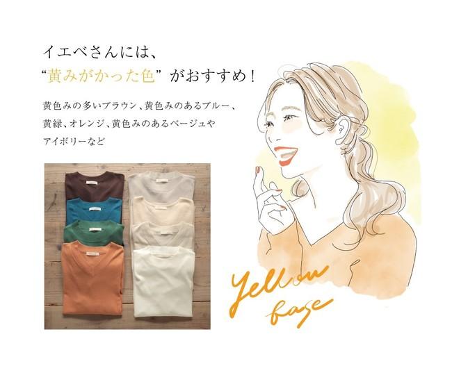 画像2: 今注目の骨格・カラー診断のパイオニア「二神 弓子」氏監修・あなたをきれいに魅せるパーソナルカラーニットを発売