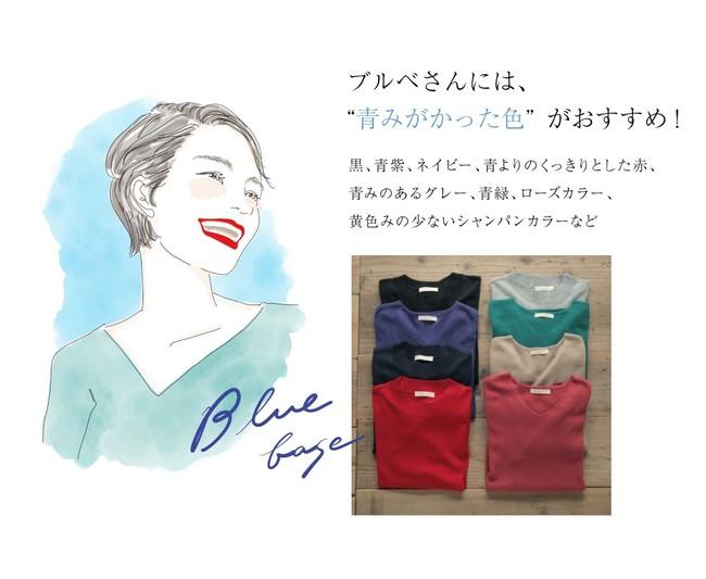 画像4: 今注目の骨格・カラー診断のパイオニア「二神 弓子」氏監修・あなたをきれいに魅せるパーソナルカラーニットを発売