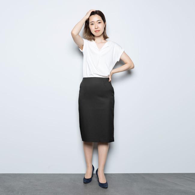 画像4: レディース新商品「3WAYシャツワンピースコート」「ちょっと長めのワークスカート」販売スタート!