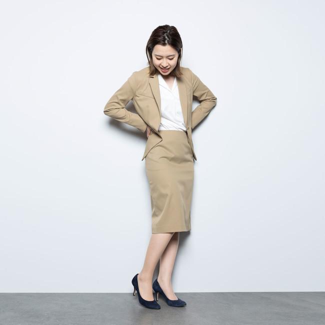 画像3: レディース新商品「3WAYシャツワンピースコート」「ちょっと長めのワークスカート」販売スタート!