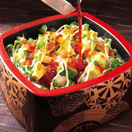 画像5: 見た目華やか、栄養価も高い完熟アボカドの寿司・弁当が新発売