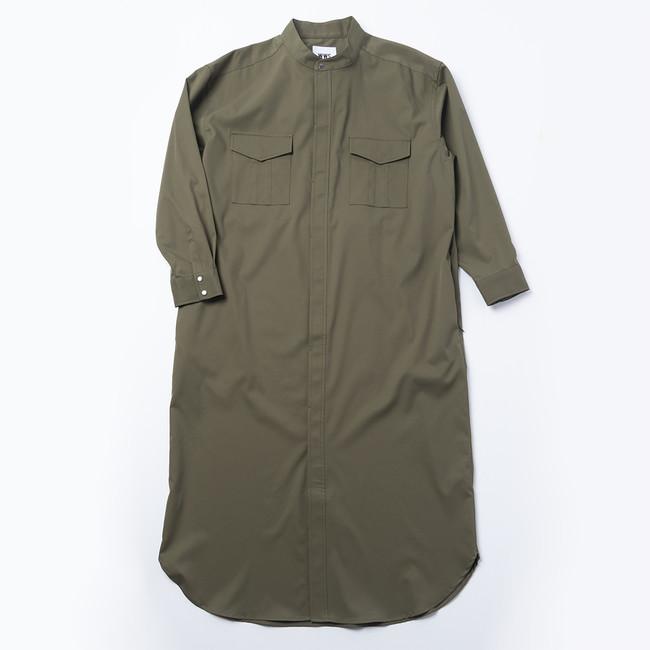 画像7: レディース新商品「3WAYシャツワンピースコート」「ちょっと長めのワークスカート」販売スタート!