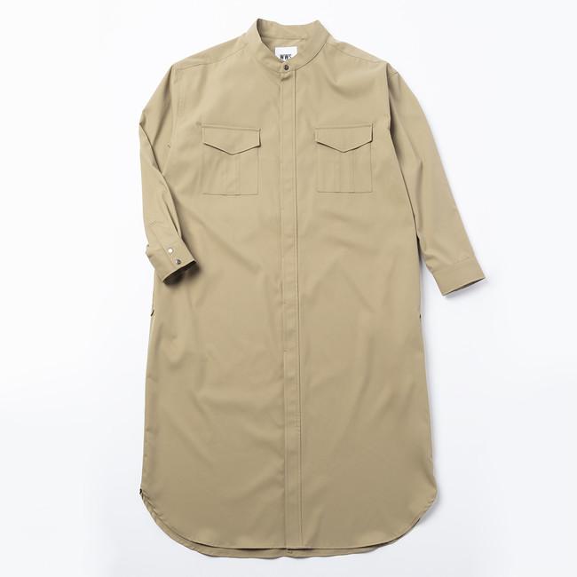 画像6: レディース新商品「3WAYシャツワンピースコート」「ちょっと長めのワークスカート」販売スタート!