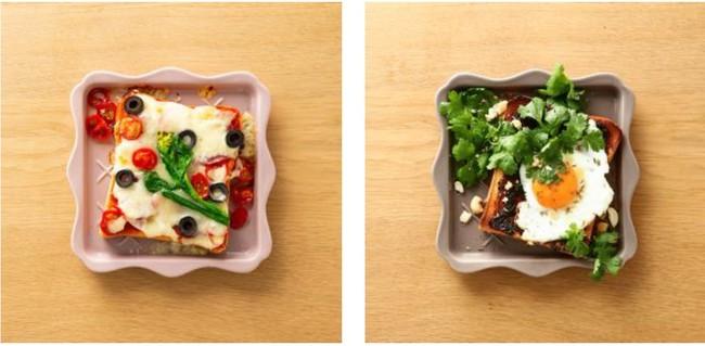 画像2: サクサク食感が楽しめる「フリル トーストプレート」で美味しく映える朝食の完成