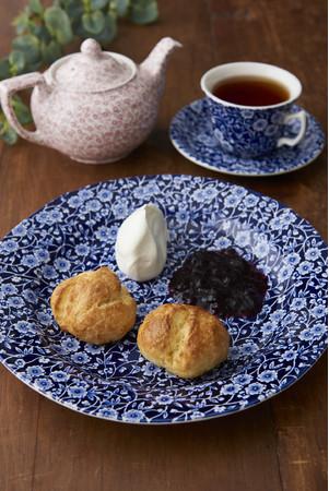 画像: Topics9 Burleigh の食器で楽しむクリームティーセット