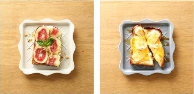 画像3: サクサク食感が楽しめる「フリル トーストプレート」で美味しく映える朝食の完成