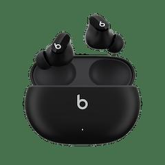 画像: Amazon.co.jp: Beats Studio Buds – ワイヤレスノイズキャンセリングイヤホン – アクティブノイズキャンセリング、IPX4等級、耐汗仕様イヤーバッド、AppleデバイスとAndroidデバイスに対応、Class 1 Bluetooth、内蔵マイク、8時間の再生時間 – ブラック : 家電&カメラ