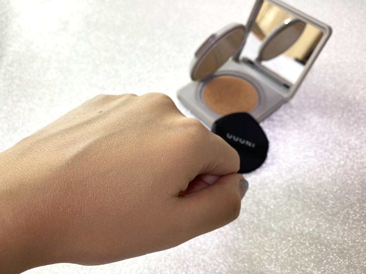 画像4: 【試用レポ】てんちむさんイメージモデル!スキンケア発想の『UUUNI(ウーニ)クッションファンデーション』を試してみました♪