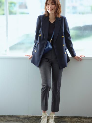 画像4: 「ザ・スーツカンパニー」オン・オフ着回しできる仕事服コーデを提案
