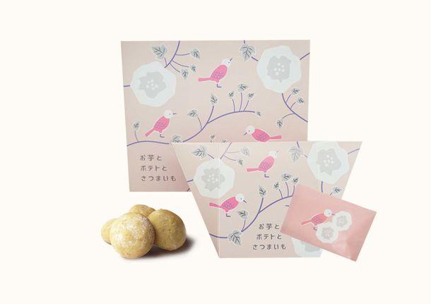 画像: ・さえずりの実 販売価格 6個入 648円(税込) 10個入 1,080円(税込) お芋の風味とさくさくほろほろ食感を楽しめるクッキー。