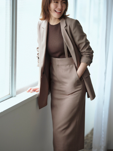 画像2: 「ザ・スーツカンパニー」オン・オフ着回しできる仕事服コーデを提案