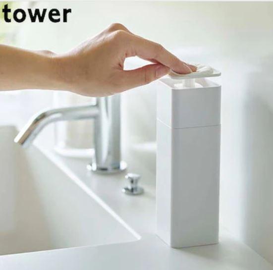 画像: 片手で出せるディスペンサー(TOWER)