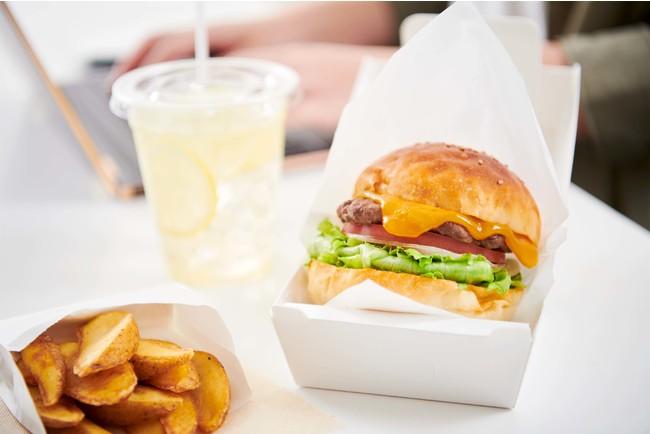 画像1: お好きなバーガーとセットでお得! 【ドリンクポテトセット】+250円
