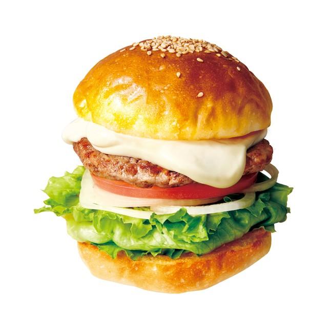 画像: クリーミーなコクと爽やかな酸味 クリームチーズバーガー390円
