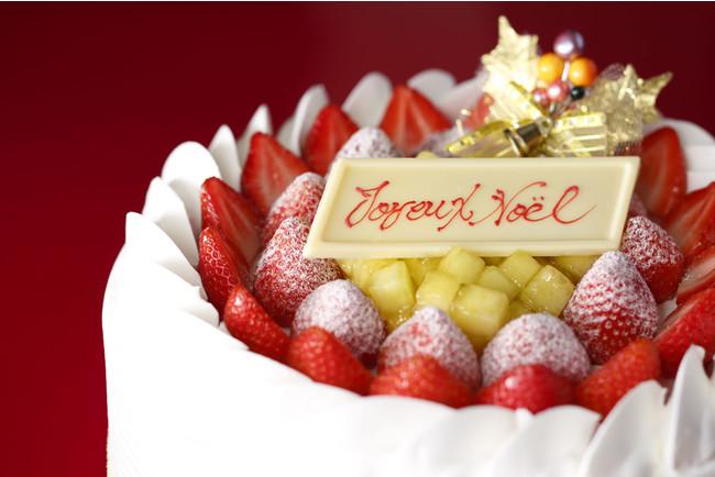 画像: クリスマス限定、ダブル主役スイーツ!あまおう×メロン『スーパーダブルショートケーキ』