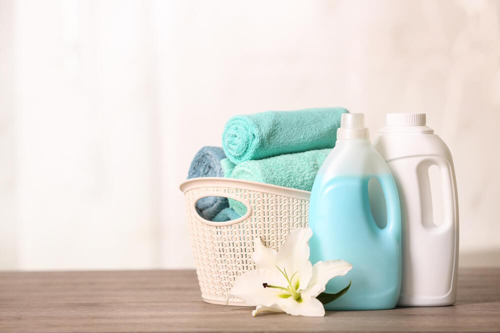 画像: 環境に優しい洗剤を使用する